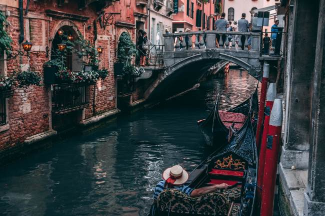 A gondola is a great way to learn about the city. Just get there early to beat the queues.
